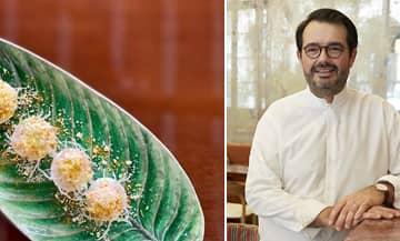 La recette des Œuf Mimosa de Jean-François Piège Piege