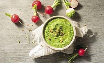 La recette du Pesto aux fanes de radis