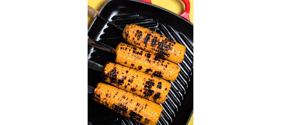 La recette du maïs grillé des Niçois.