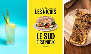 Les recettes du Cocktail Le Riviera, La Pissaladière et le Maïs grillé au beurre d'anchois