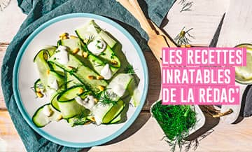 Salade Courgettes Menthe