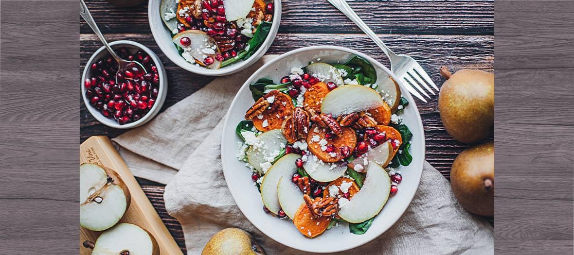 Salade Saison Hivers