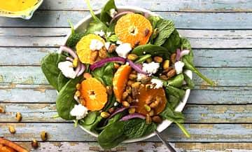 Salade Pistache Et Chevre