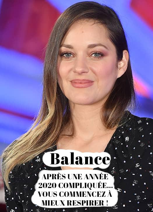 Prévisions 2021 balance