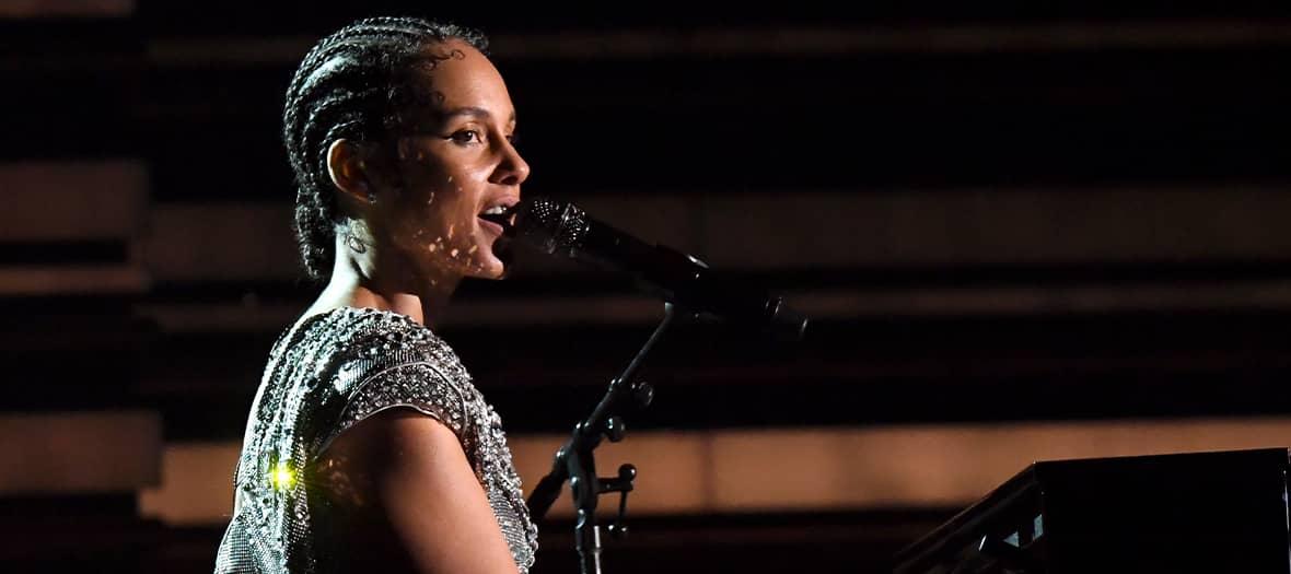 La masterclass de la pianiste Alicia Keys