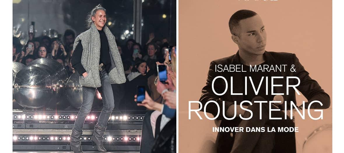 "La masterclass ""innover dans la mode"" avec Olivier Rousteing et Isabelle Marant"