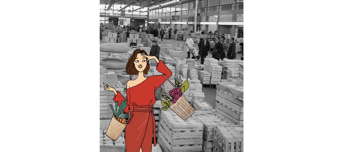 livraison food frais en provenance des halles de Rungis