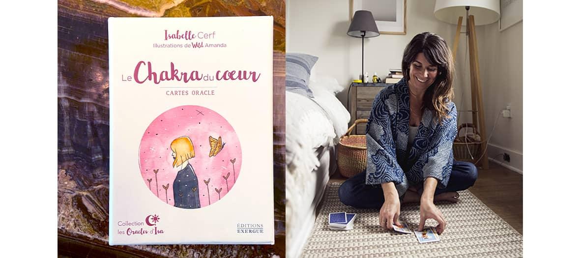 Coffret Chakra du cœur, Isabelle Cerf, Edition Tredaniel