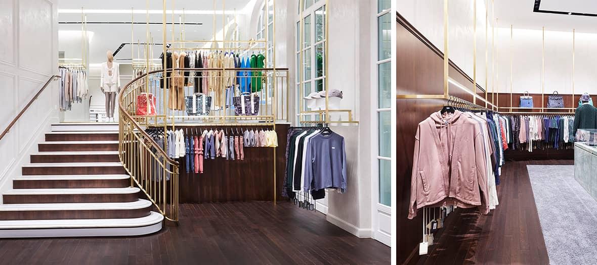 La griffe de streetwear américaine Kith au Pershing Hall à Paris