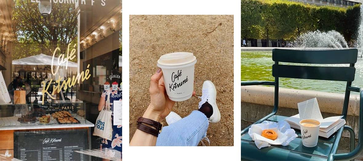 Le café Kitsune au Palais Royal