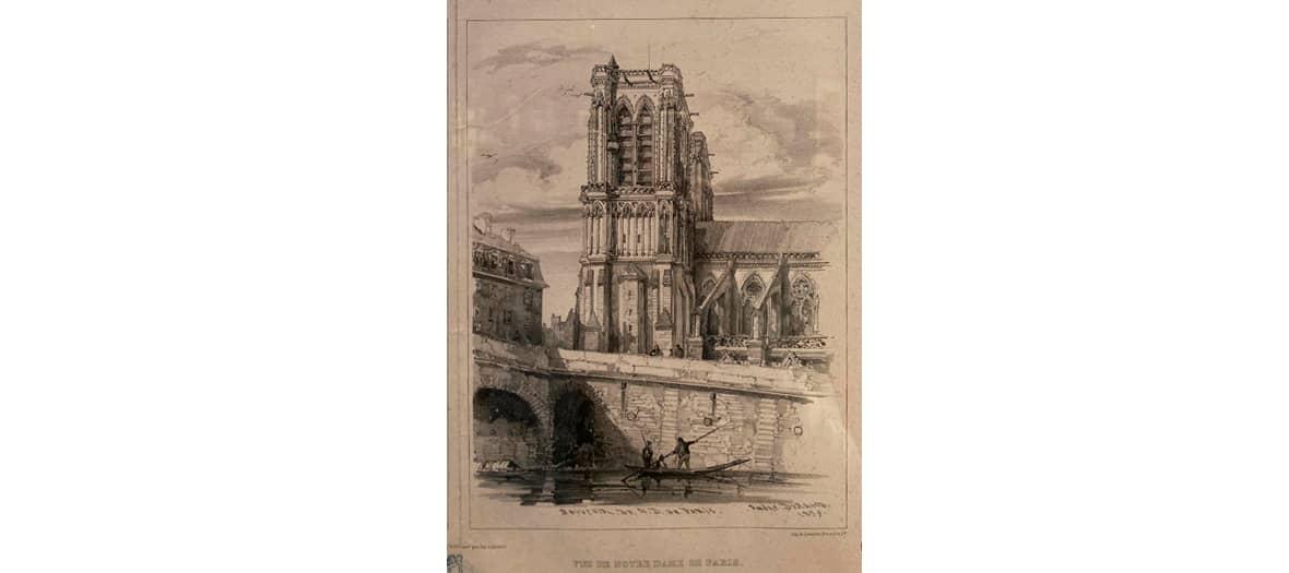 La collection de dessin de Victor Hugo à la Maison Victor Hugo à Paris