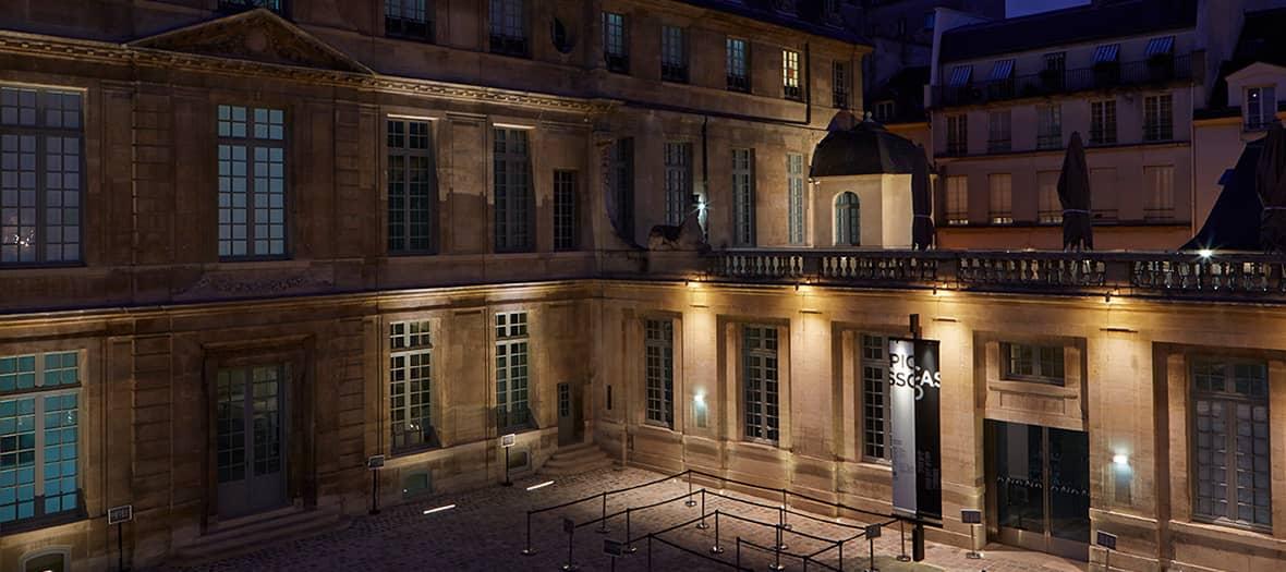 Visites de nuit au musée Picasso