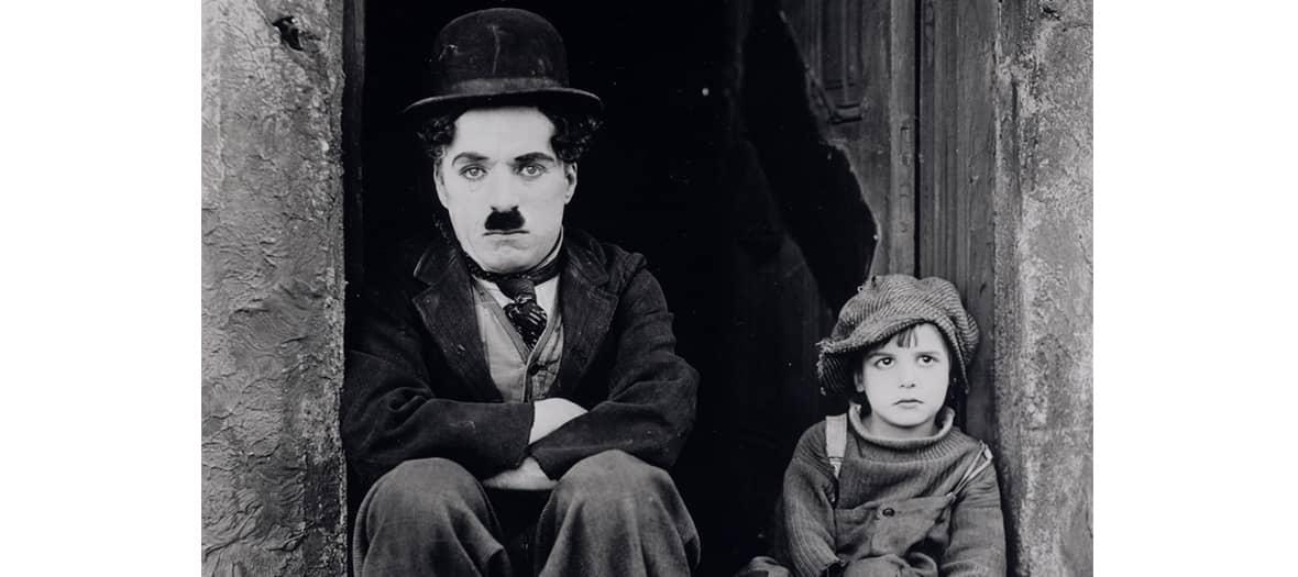 Film the the Kid avec Charlie Chaplin