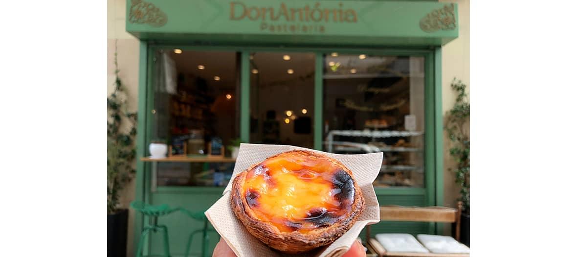 Les pastéis de nata chez DonAntónia à Paris