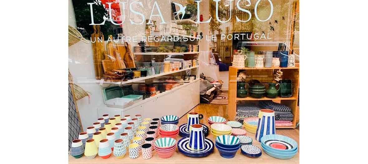 La boutique Lusa Luso à Paris