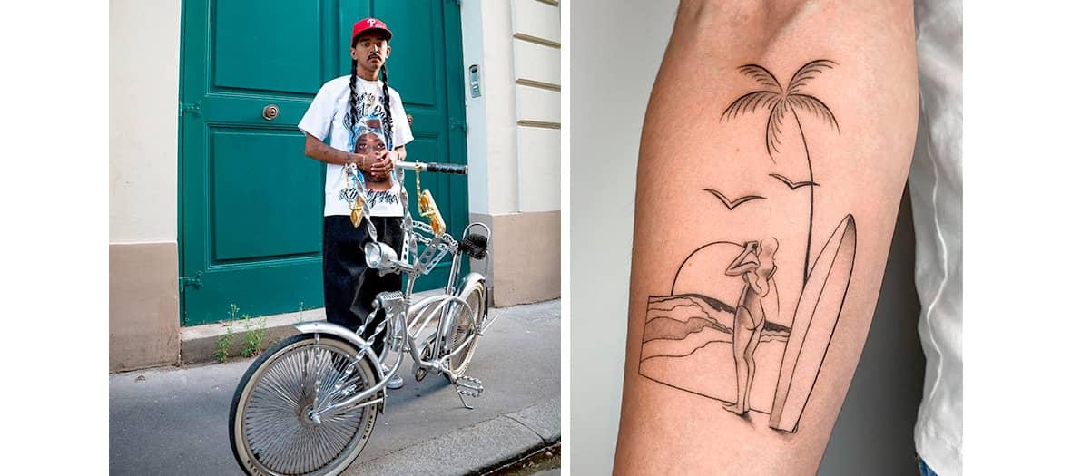 Les tatouage de Dylan Long Cho à l'Encrerie