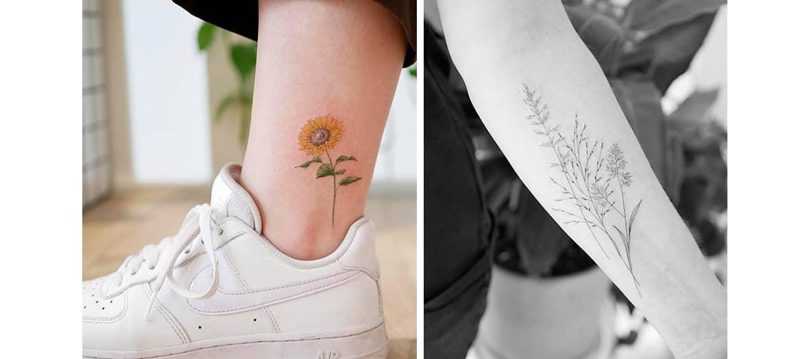 Les tatouages de chez Point Barre