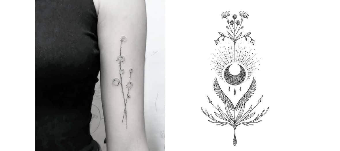 Sélune tattoos at Maison Yōso in Paris