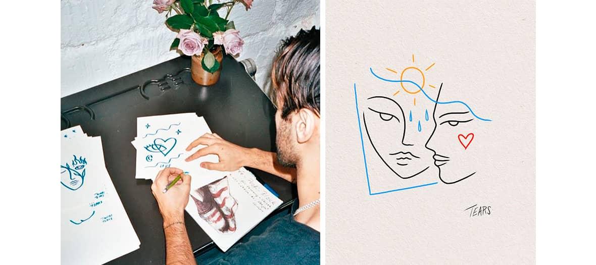 Zombie Tears tattoos at Baca in Paris
