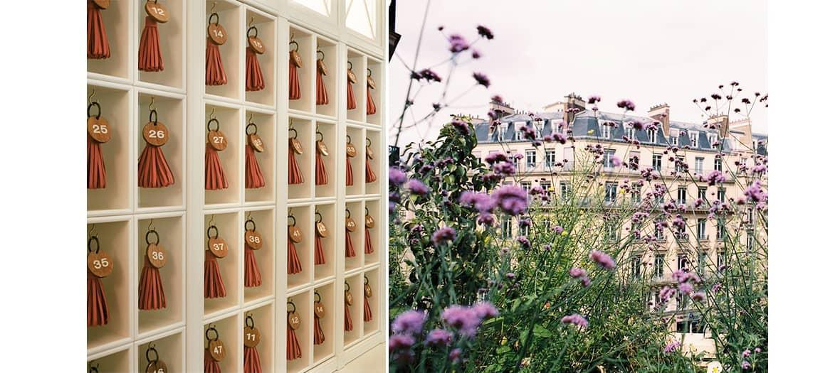 decoration hotel Voltaire in Paris