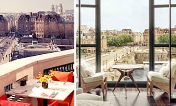 l'Hôtel Cheval Blanc à Paris