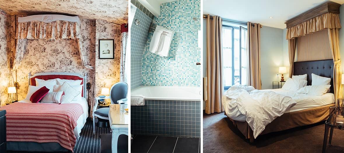 Une chambre standard au ze hotel à Paris
