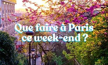 le Week End du 25 et 26 septembre à Paris