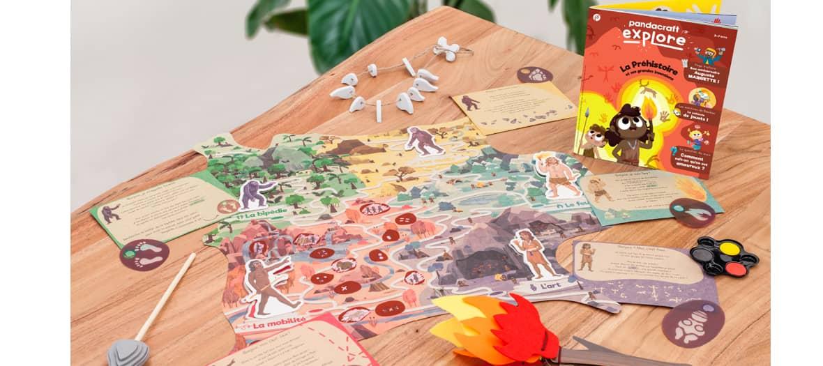 Thématique préhistoire avec magazine et travaux pratique par Pandacraft