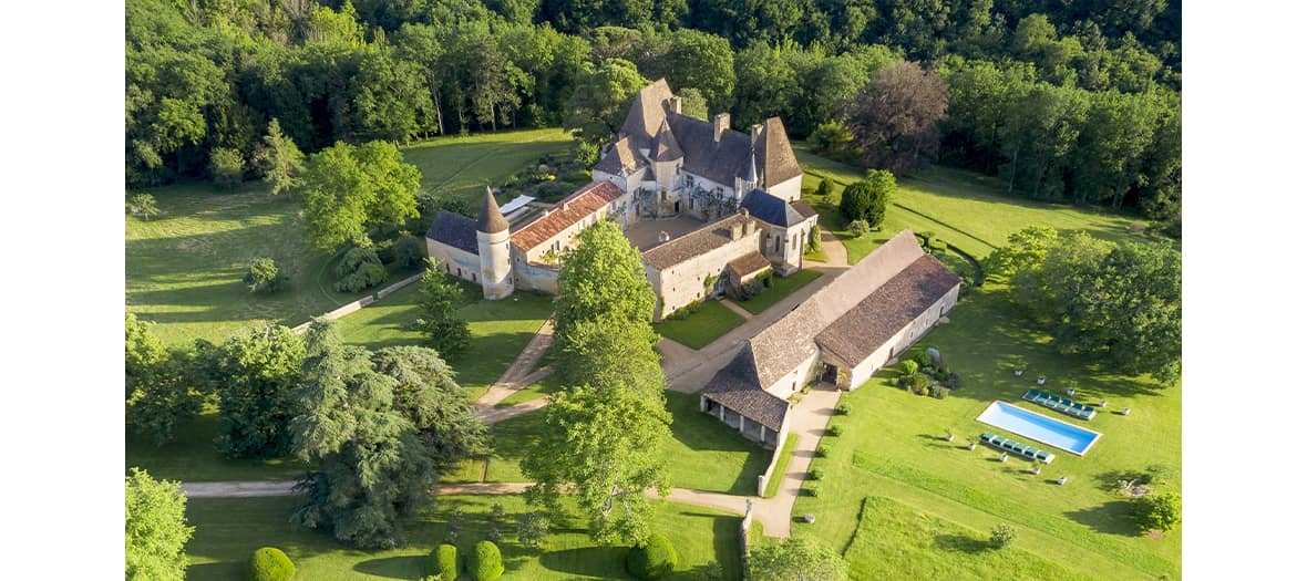 Château de la Bourlie, Dordogne