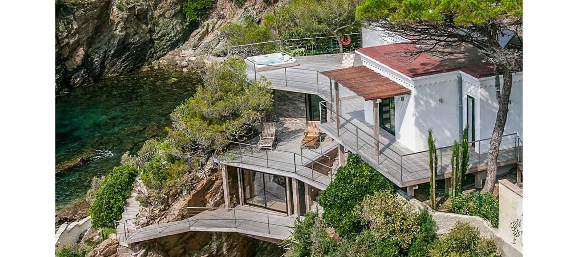 Louer une maison d'architecte sur la côte d'Azur
