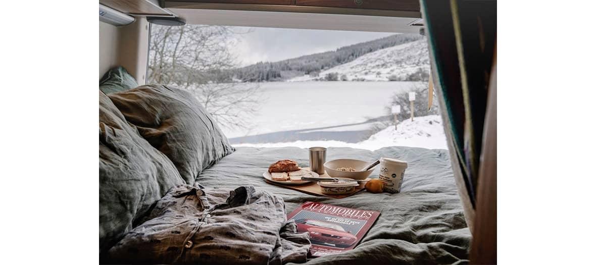 Le glamping et la van life avec Nomadism