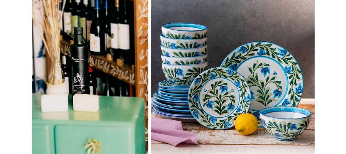 Les céramiques de l'atelier boutique de poterie de Porches