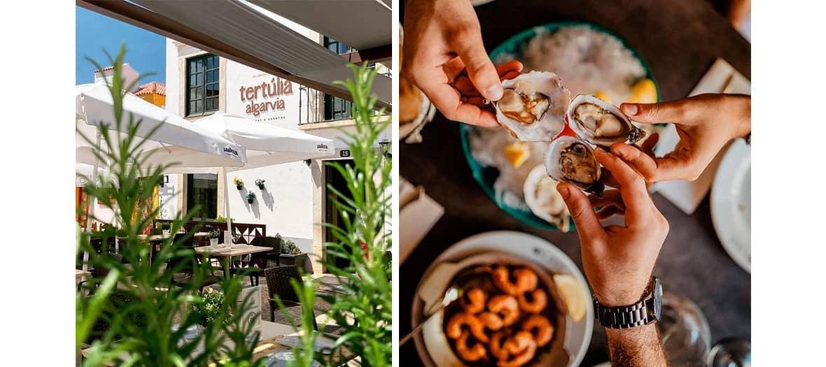 Le restaurant de poissons Tertúlia Algarvia