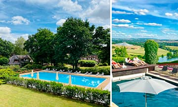 Hotels with swimming pools outside Paris.
