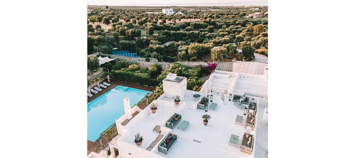 L'hôtel Masseria Torre Maizza à Bari