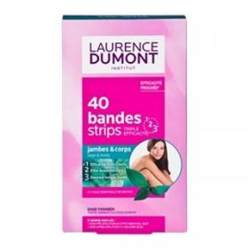 30 bandes de cire froide Laurence Dumont