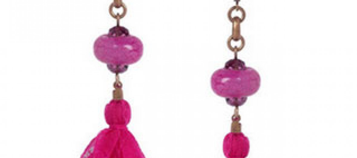 Boucles d'oreilles «Agate» d'Isabel Marant