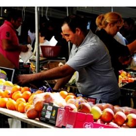 Le marché de l'avenue du Président Wilson