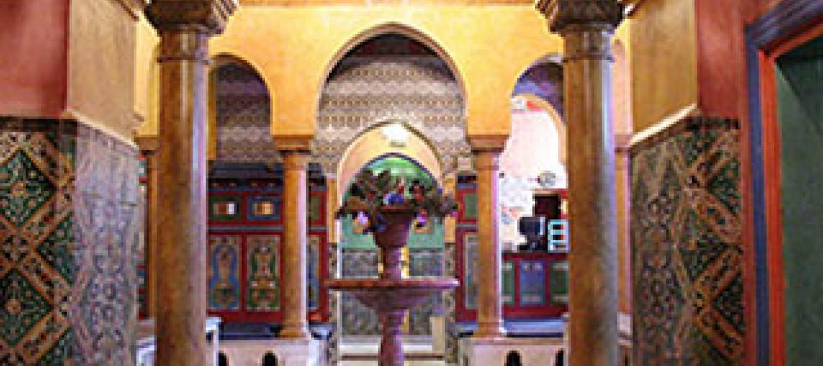 Hammam de la mosquée de paris