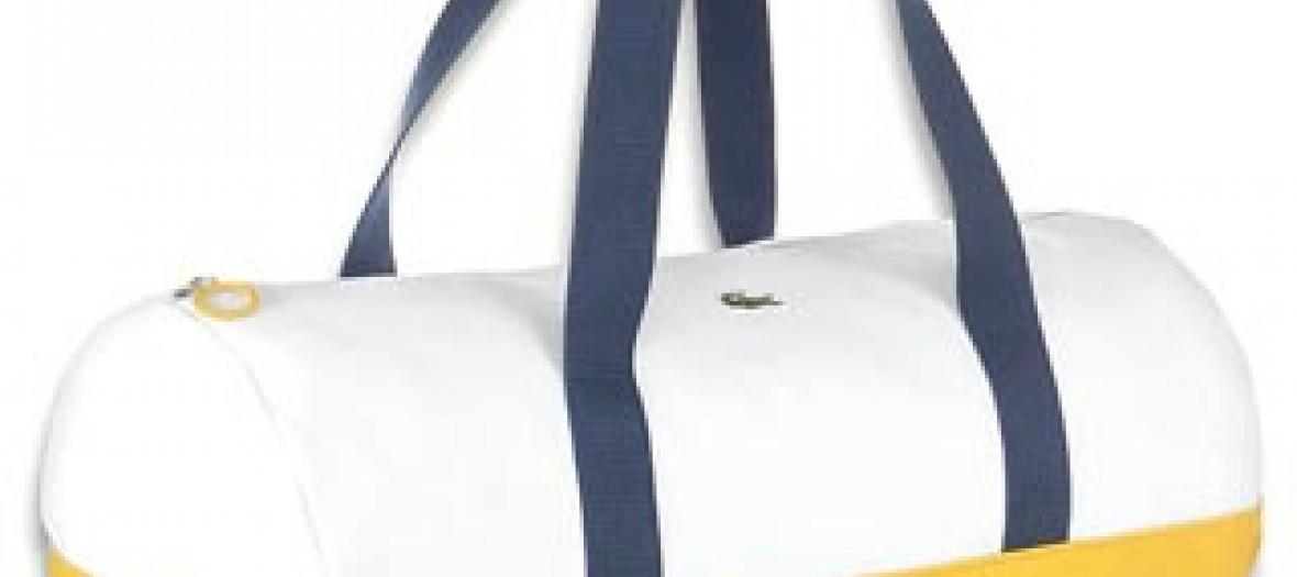 Grand sac rouleau Easport toile Lacoste