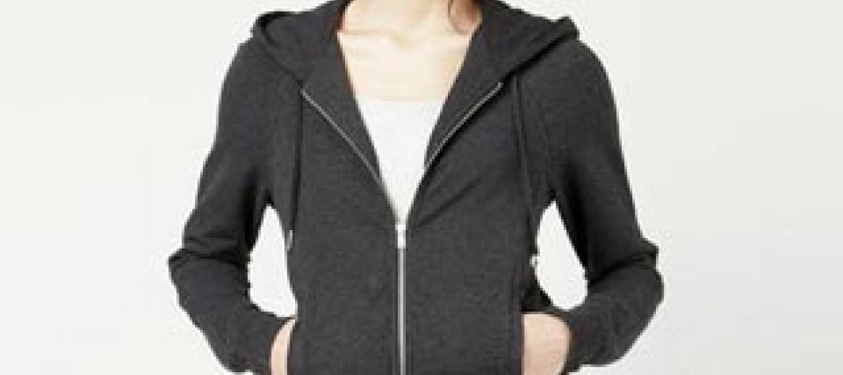 Sweatshirt à capuche zippé Lacoste