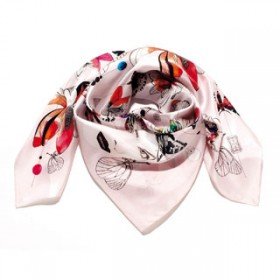 Foulard «Forget me not»