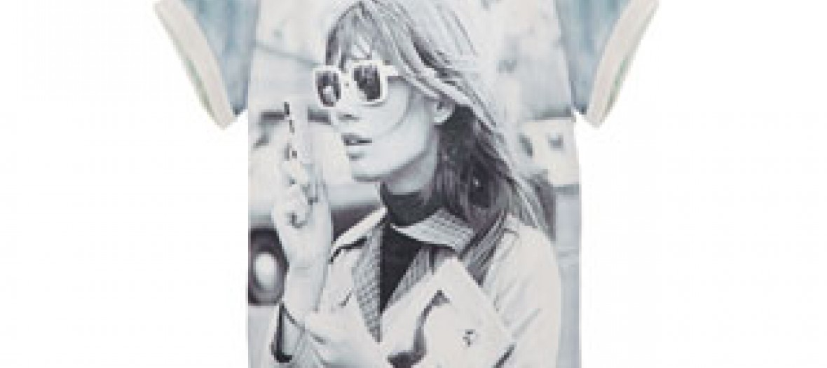 T-shirt Maje collection Françoise Hardy