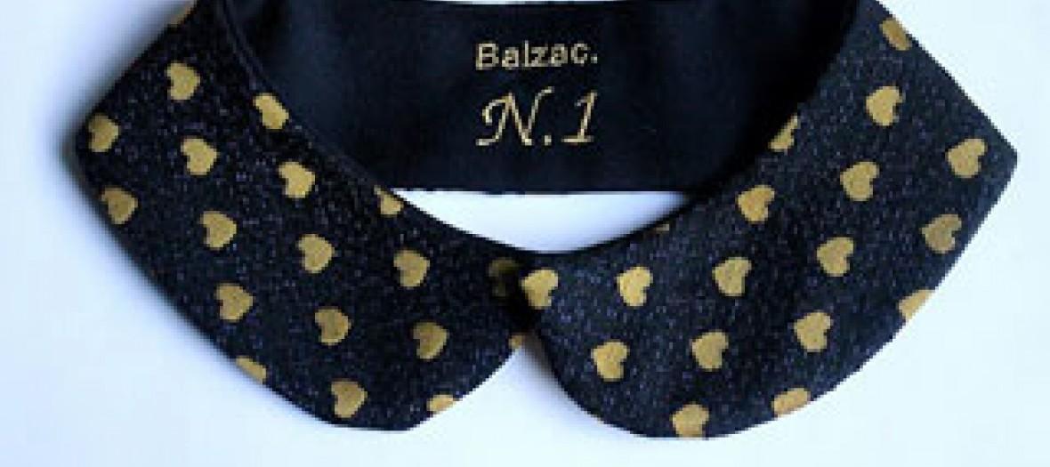 Col claudine réversible, « N°1 » Balzac