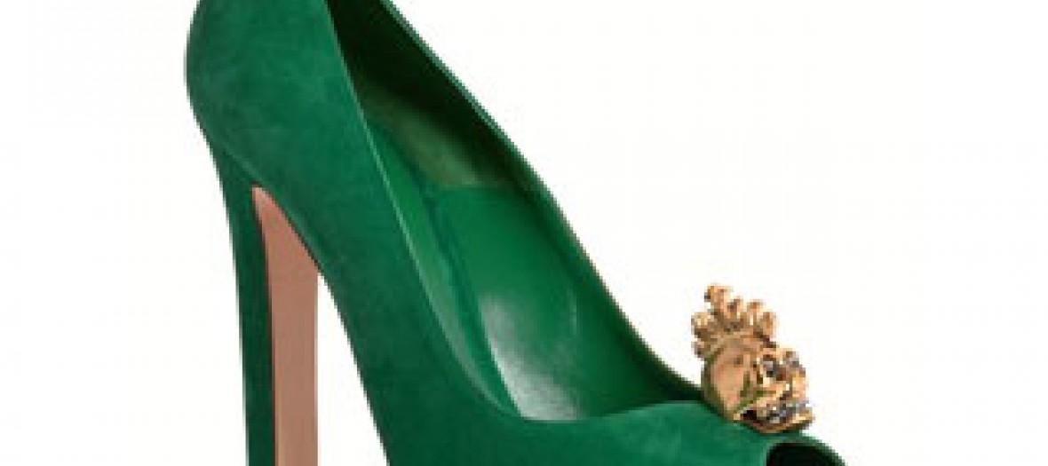 Chaussures à talons Alexander McQueen