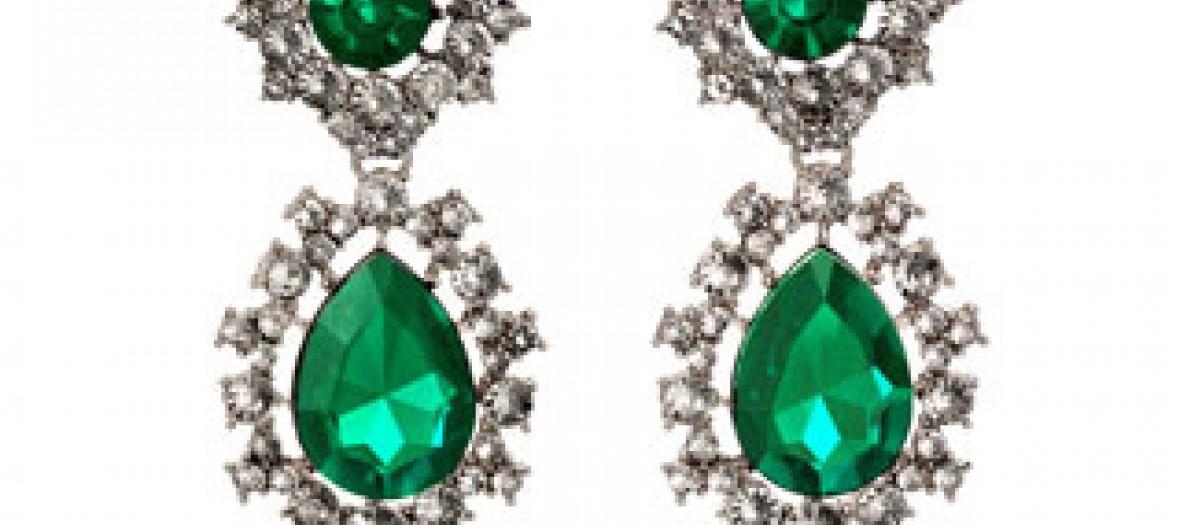 Boucles d'oreille «Anna Dello Rosso» H&M