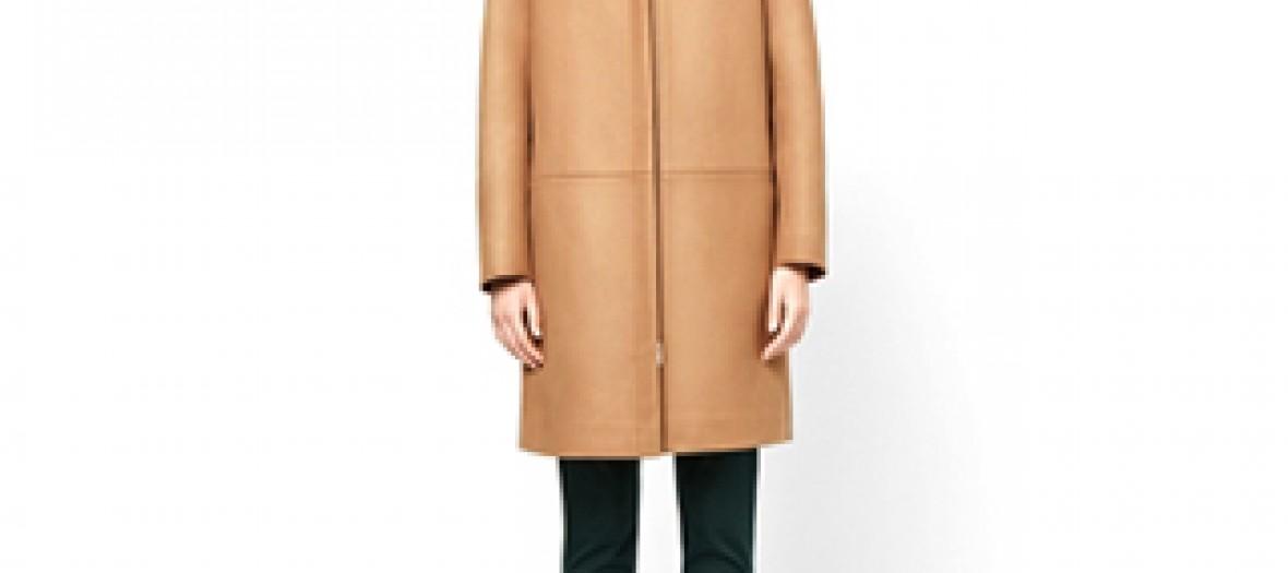Manteau à capuche COS