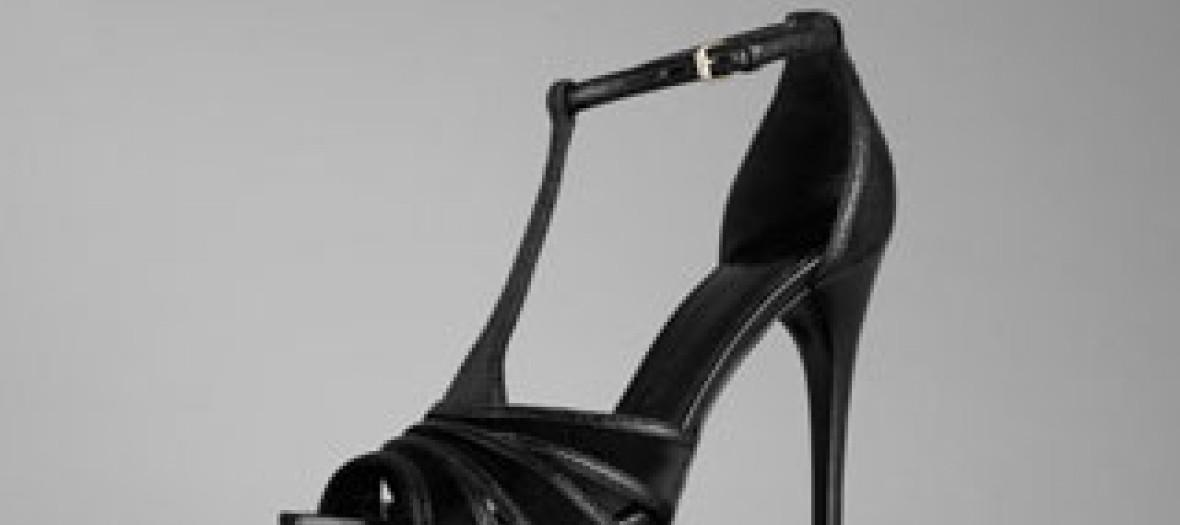 Sandales à plateformes Burberry