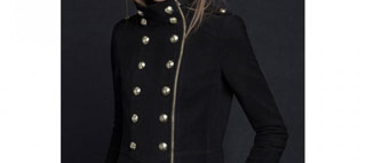 Veste militaire Zara
