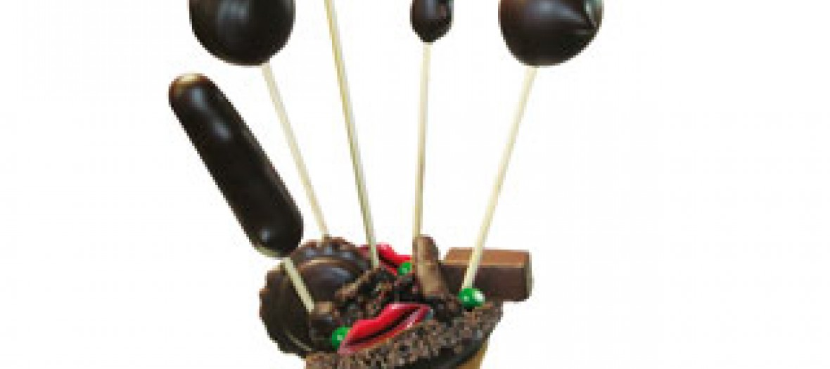 Pop chocolate